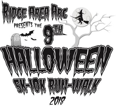Ridge Area Arc 9th Halloween 5K-10K Run-Walk