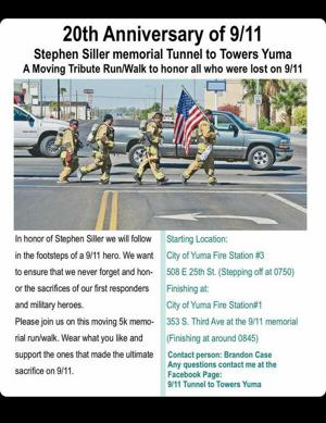 Yuma Fire Department remembers the  Firefighters that gave their lives