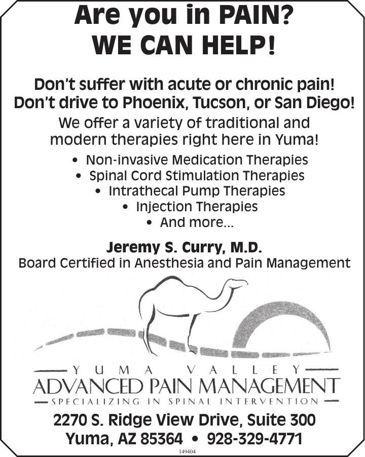 Advanced Pain Management Yuma Valley