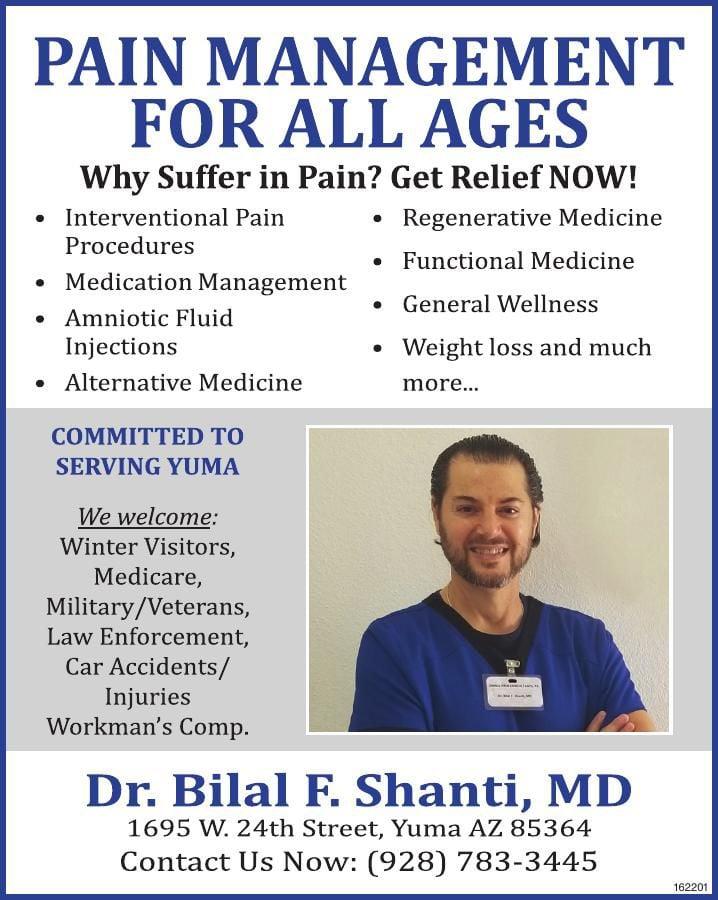 Dr. Bilal F. Shanti