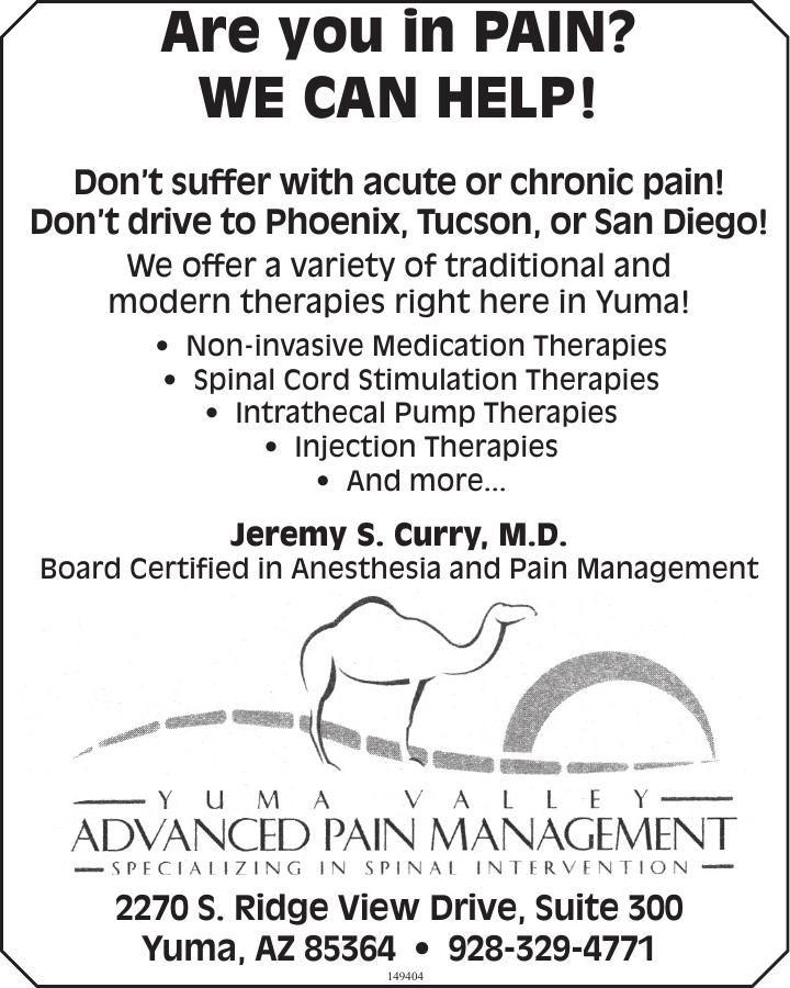 Advanced Pain Management Yuma Valley