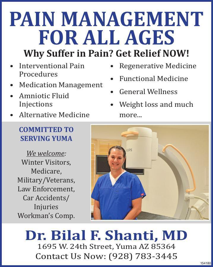 Dr. Bilal F. Shanti, MD