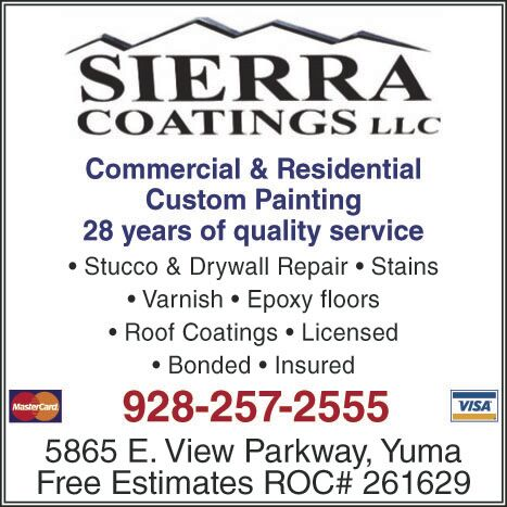 Call Sierra Coatings LLC