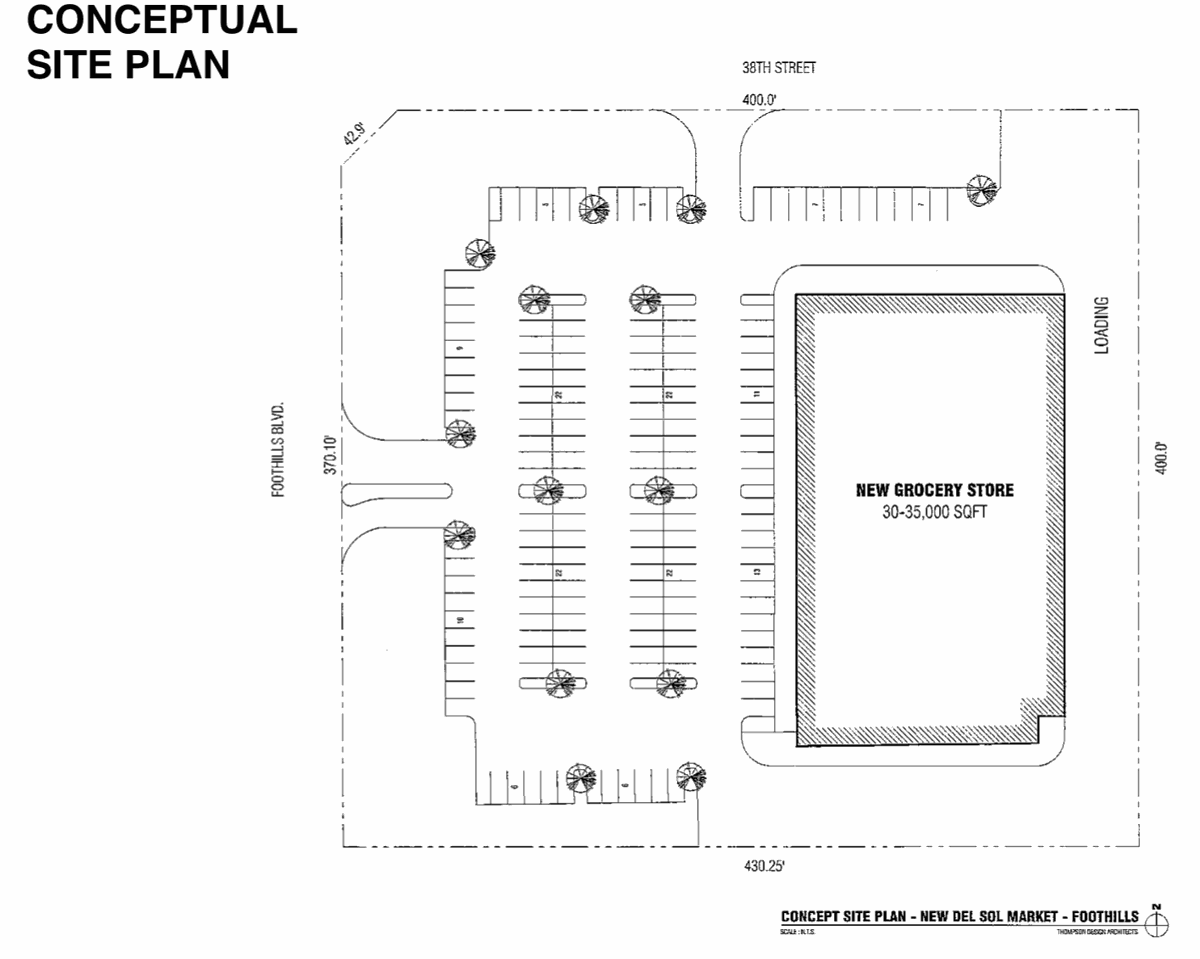 Proposed Foothills Del Sol store gets P&Z thumbs up