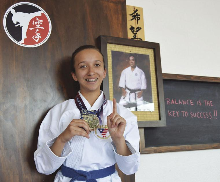 San Luis karate student wins another medal at national tournament