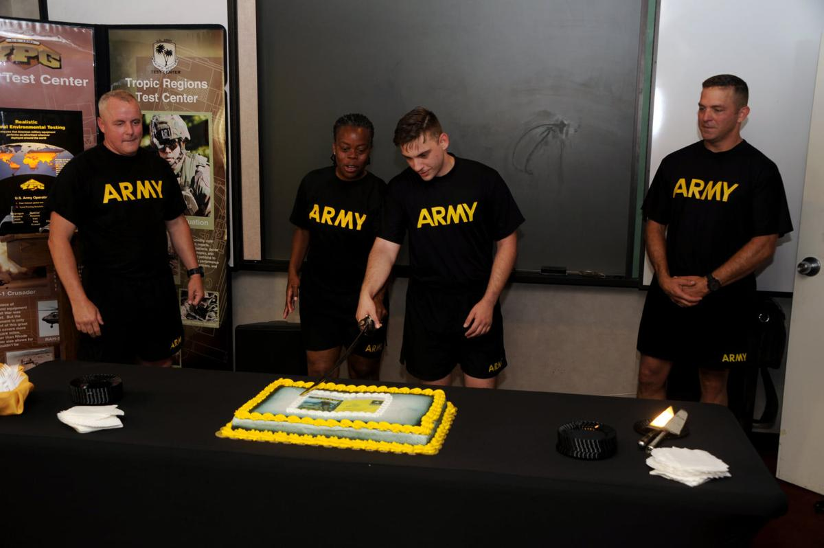 YPG celebrates the U.S. Army's 246th birthday: which is a lot of candles.