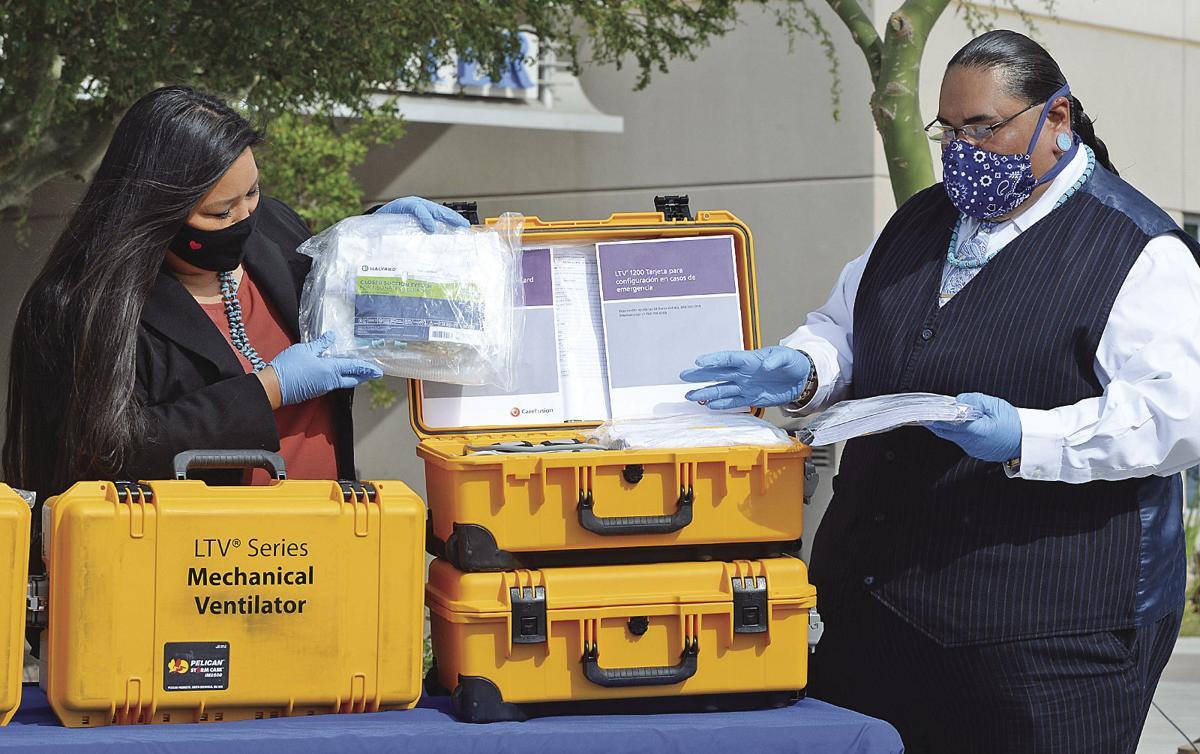 Local tribes donate ventilators to YRMC