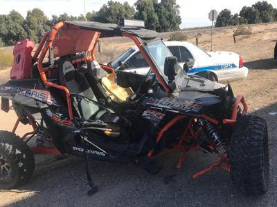 6 people hurt in crash with UTV