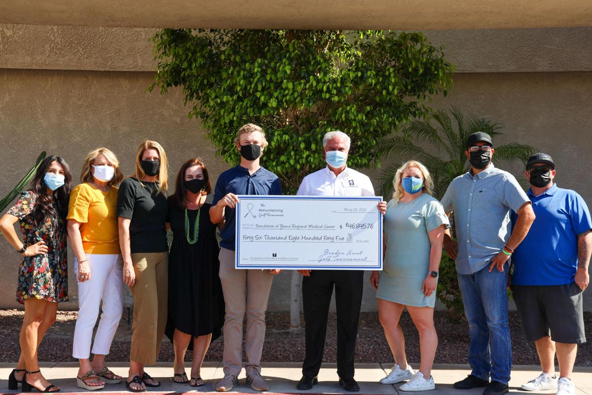 Golf tourney nets $46K for pediatric oncology support