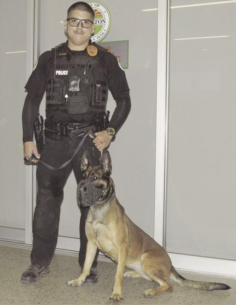 Yard sale to raise funds for Somerton K-9's vest