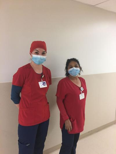 3 workers volunteer to clean, disinfect ICU, COVID-19 units