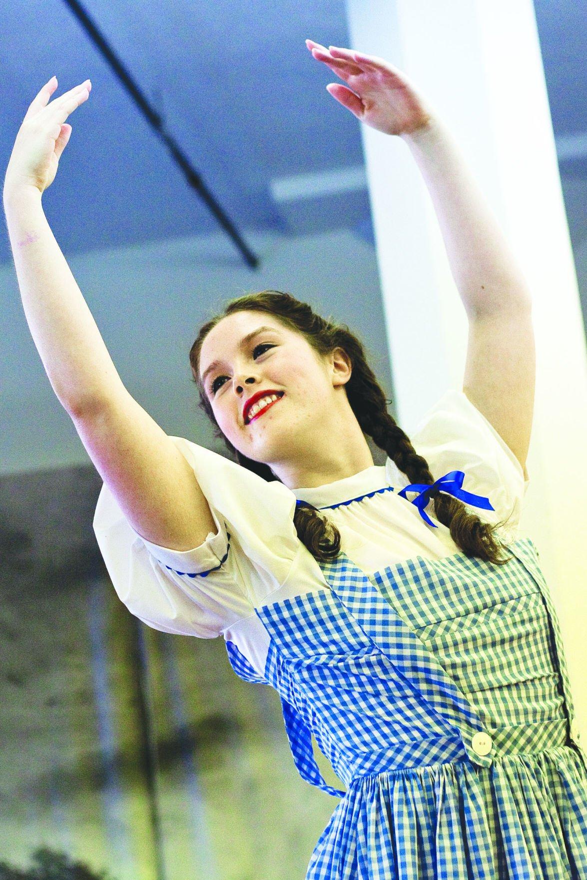 Dorothy dances