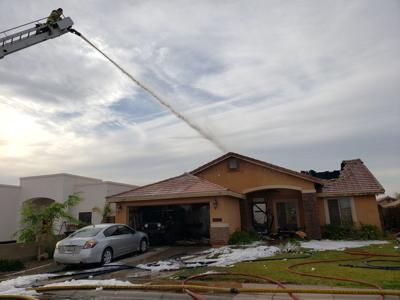 Faulty air conditioner likely cause of San Luis house fire