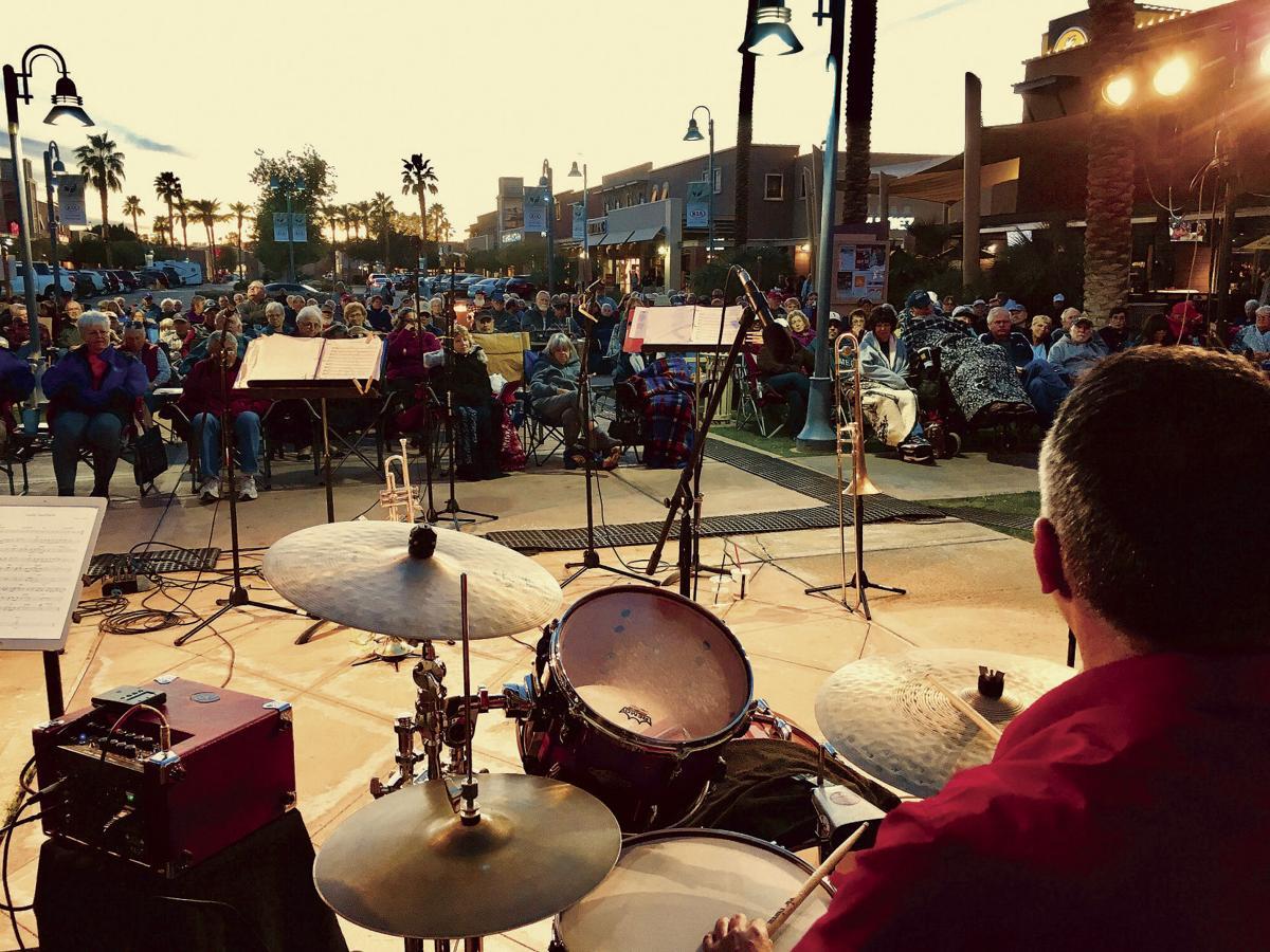 Holiday concerts at Yuma Palms