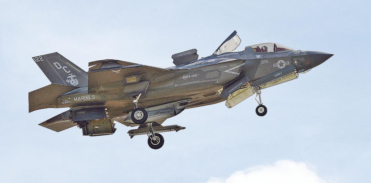 Amazing range for the F-35B