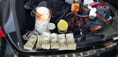 Cash and Fentanyl seized