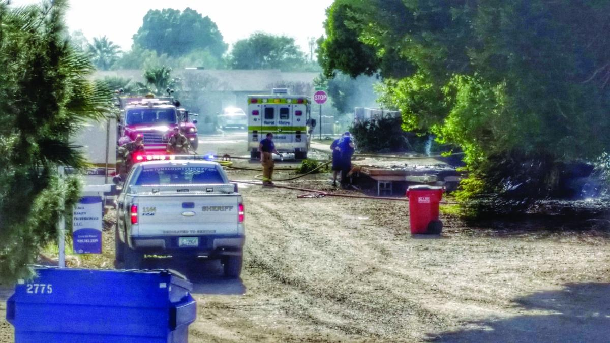 Responding to the blaze