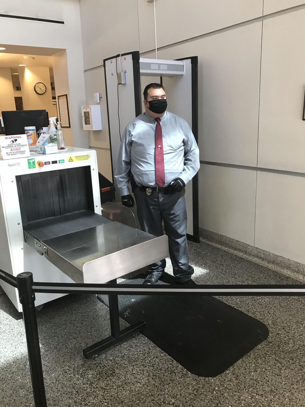 New protocol for court security