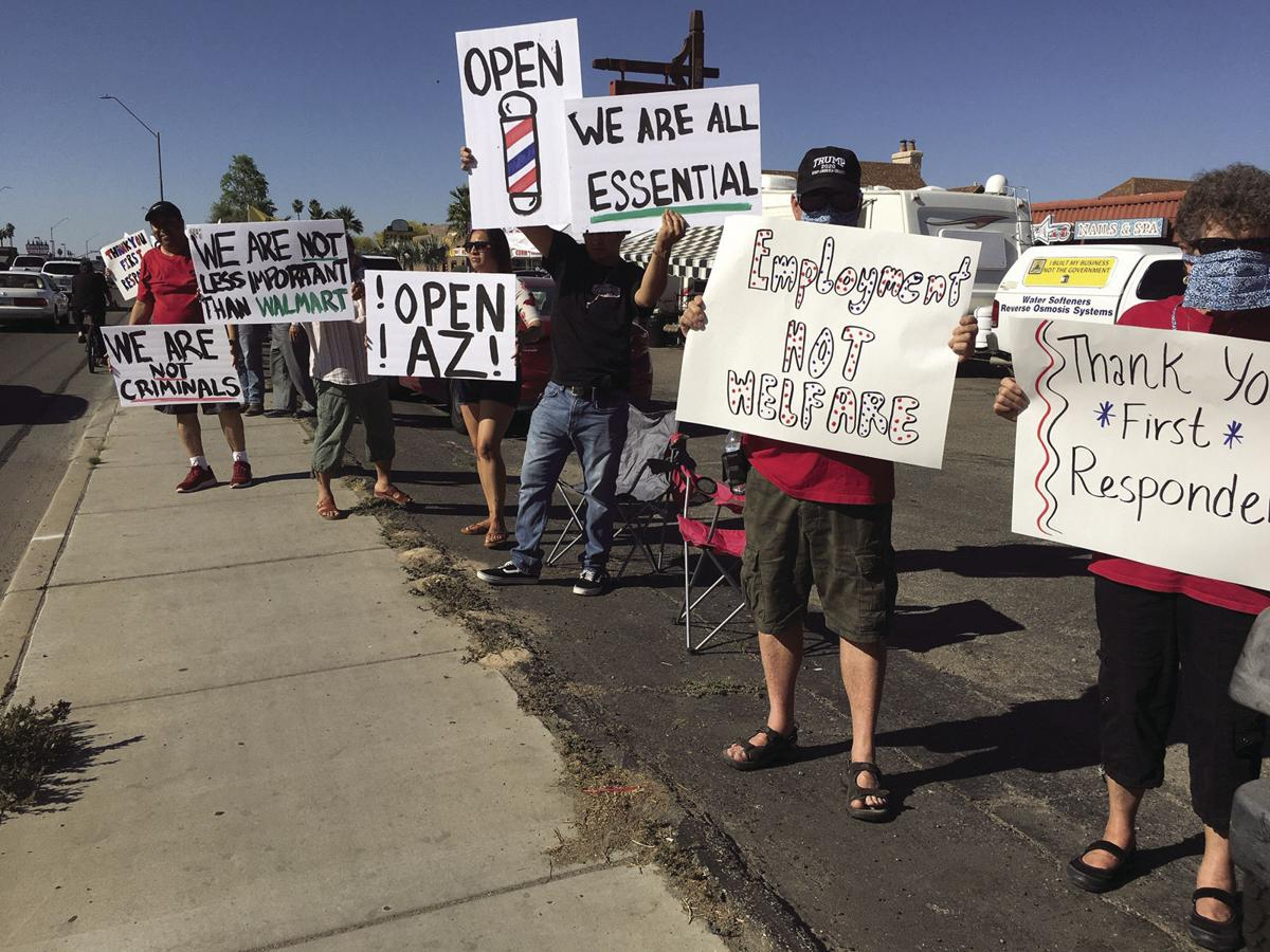 Rally calls for reopening of businesses