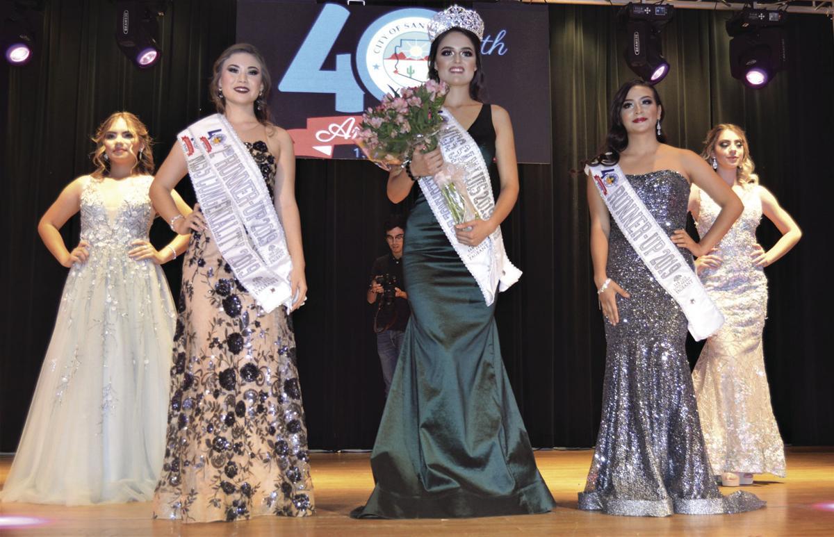 Miss San Luis contestants