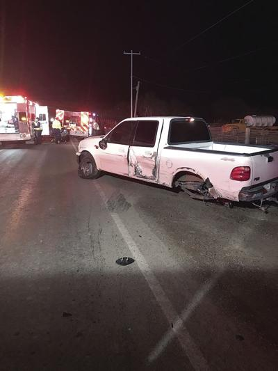 One person injured in 2-car crash early Friday