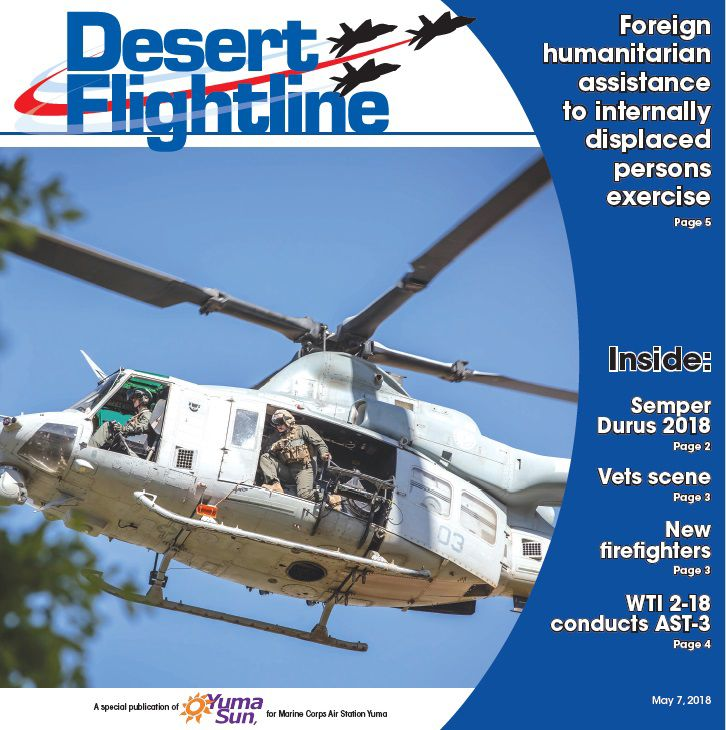Desert Flightline cover