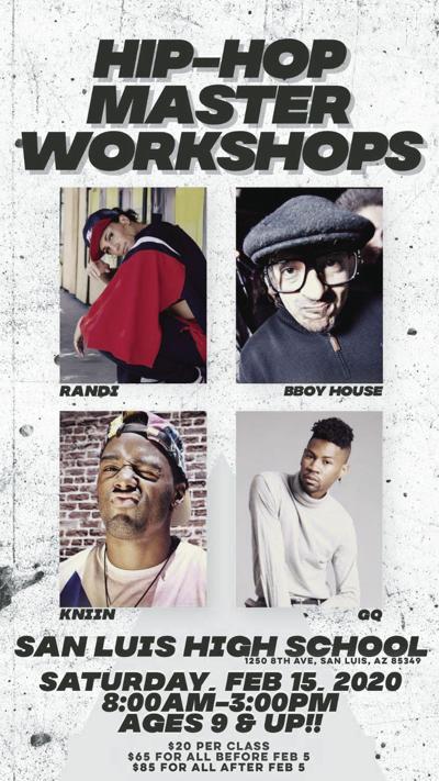 Taller sobre hip hop