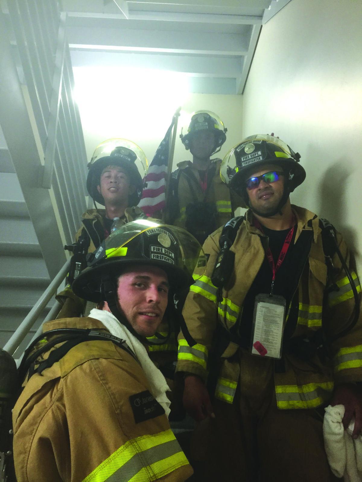 San Diego 9/11 Memorial Stairclimb