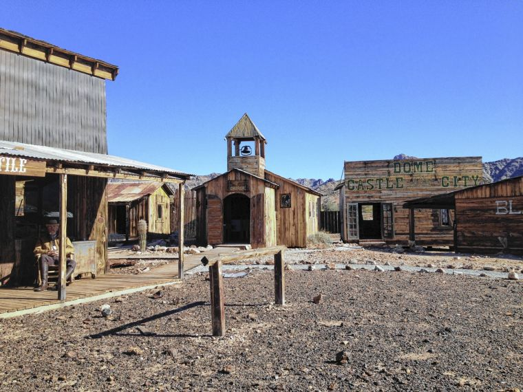 Castle Dome is real-life ghost town