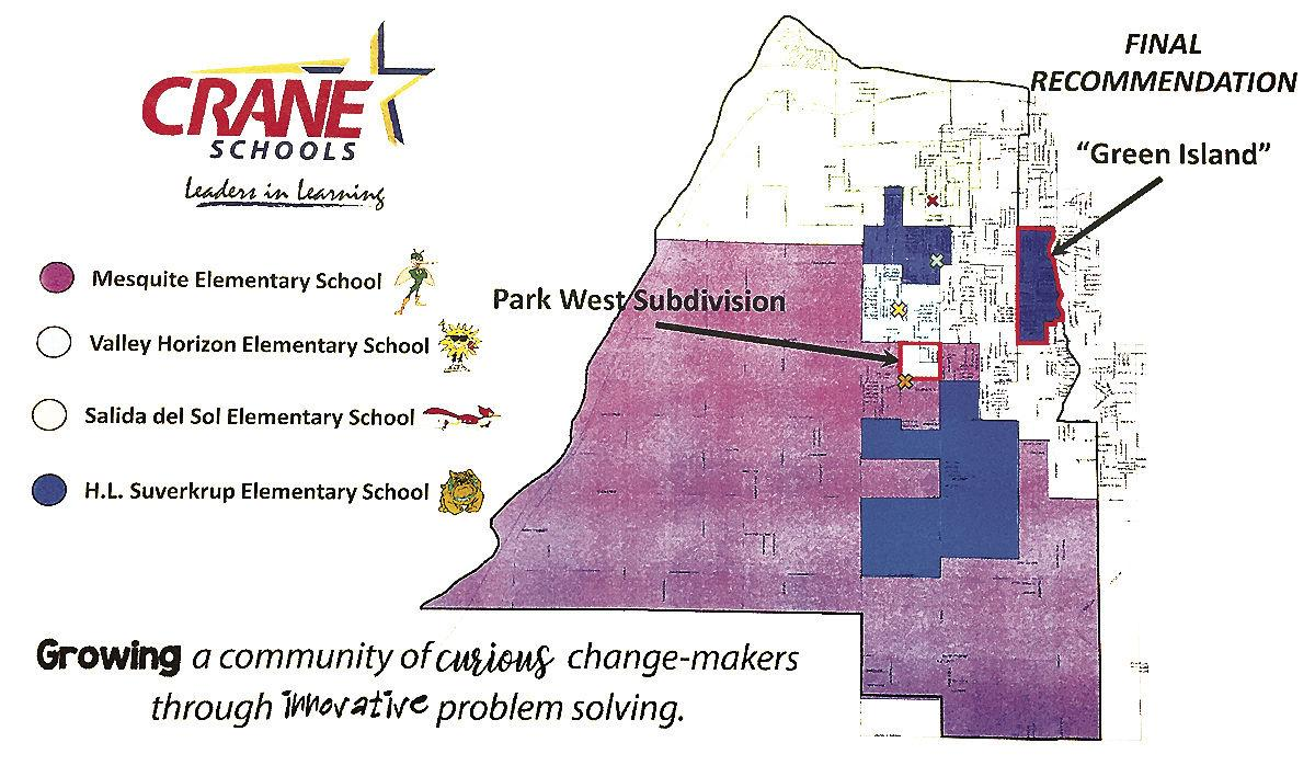 Crane School District proposes rezoning for 2020-2021
