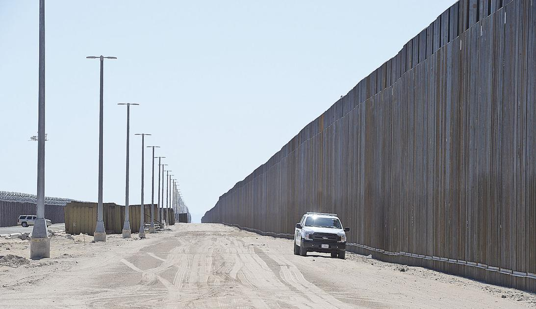 Yuma border projects get Pentagon funds