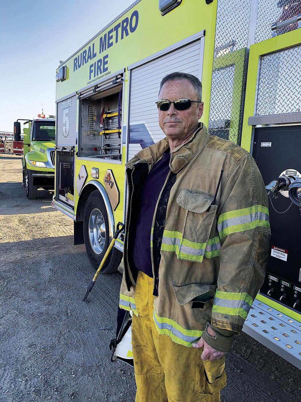 Rural/Metro Fire Chief Tim Soule