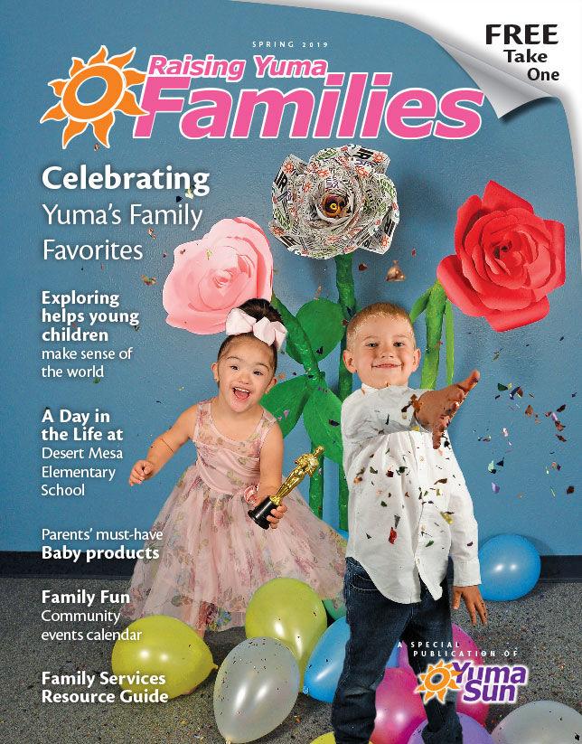 Raising Yuma Families Cover