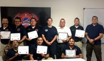 Yuma Fire Department aids San Luis Rio Colorado crew - Yuma Sun