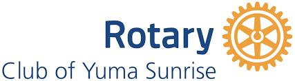 Yuma Sunrise Rotary Logo