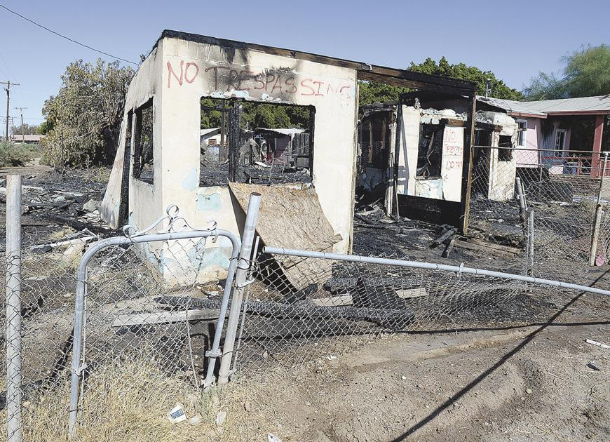 Fire destroys structures in Winterhaven, home evacuated