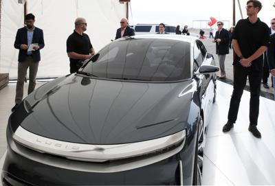 Lucid Motors luxury electric vehicle