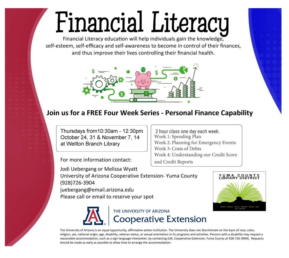 Personal Finance Capability, Financial Education, Wellton