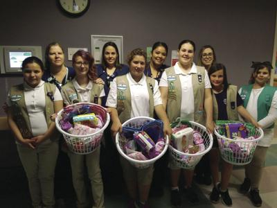 Local Girl Scouts mark 107th anniversary