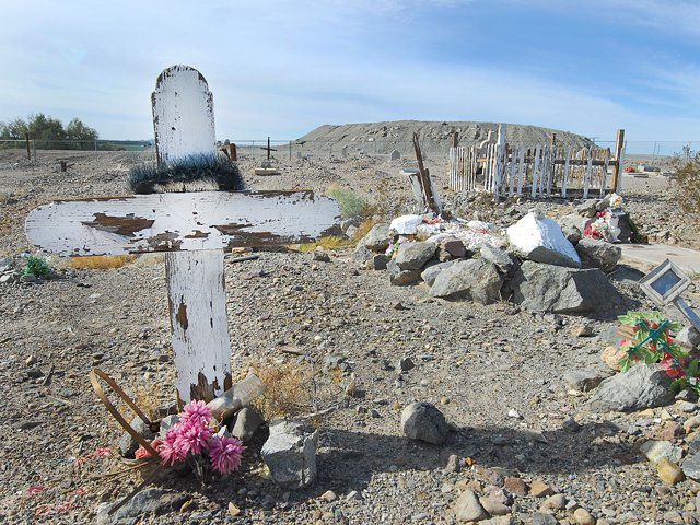 Potholes Cemetery as rugged as its inhabitants
