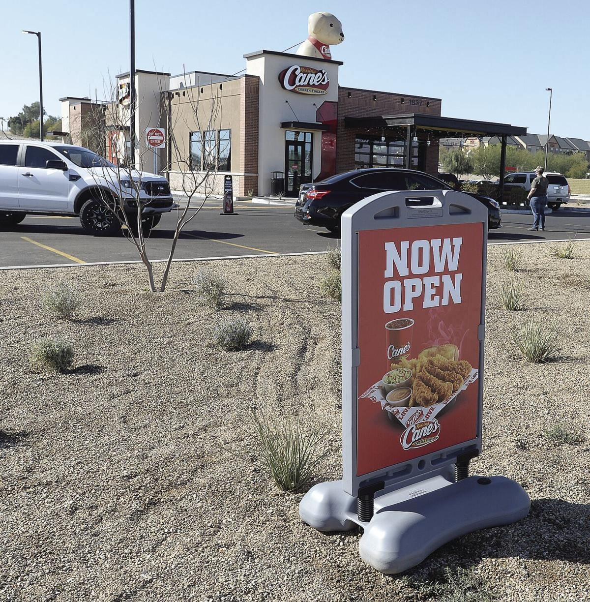 Comings and Goings: Raising Cane's