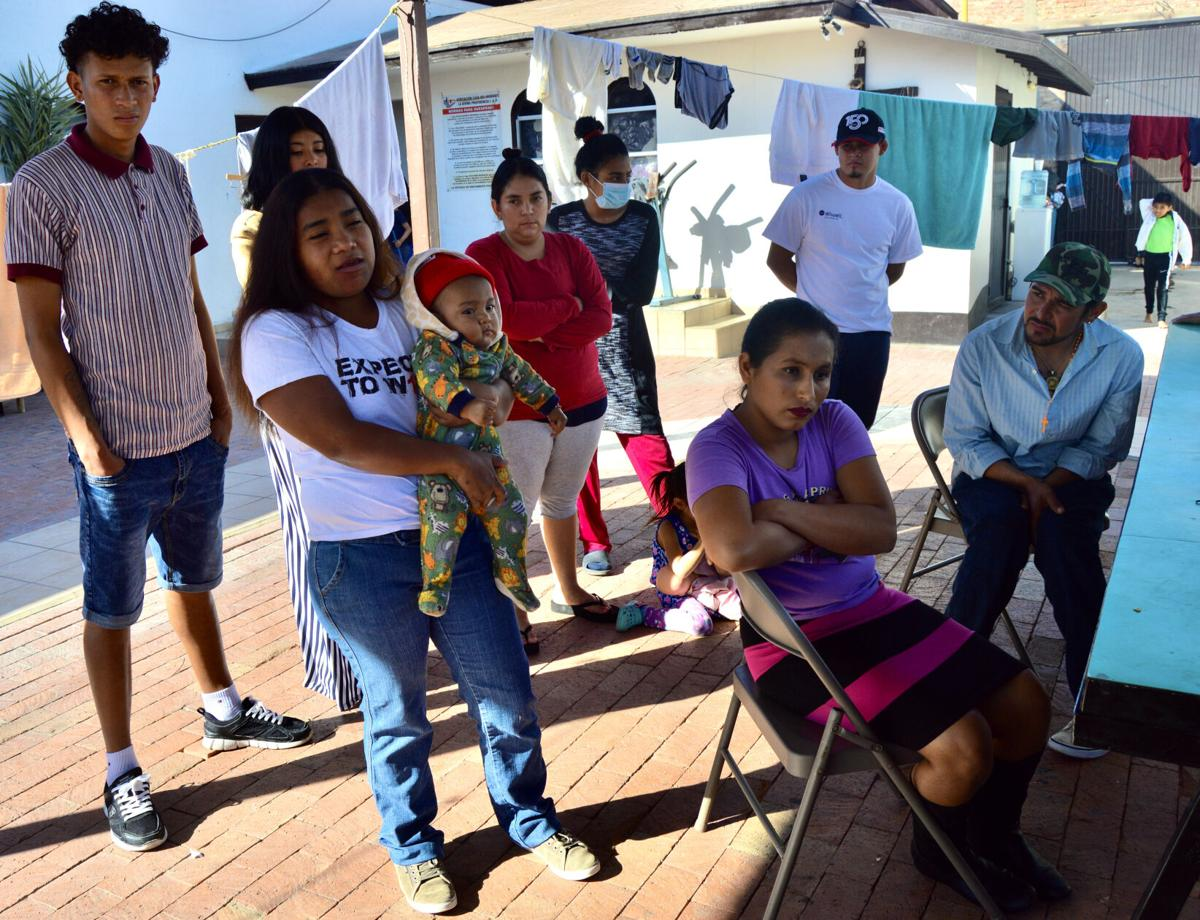 San Luis R.C. shelter swells with new asylum seekers
