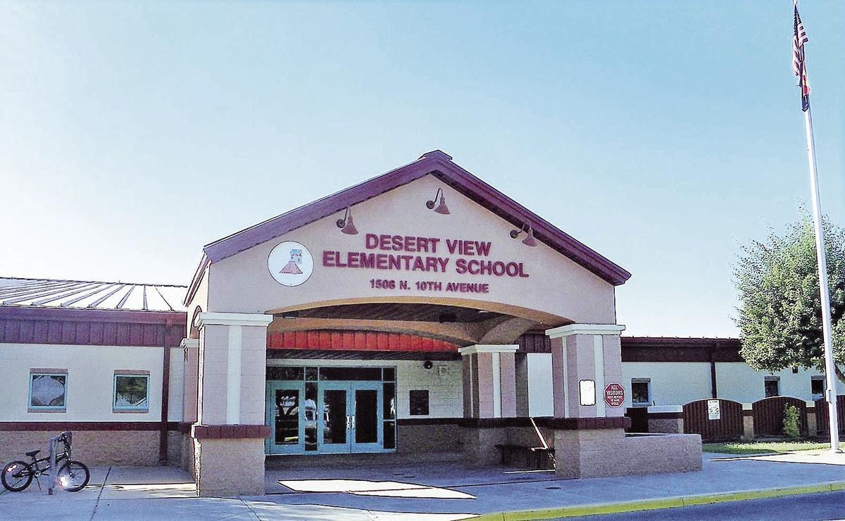 Desert View Elementary earns an 'A'