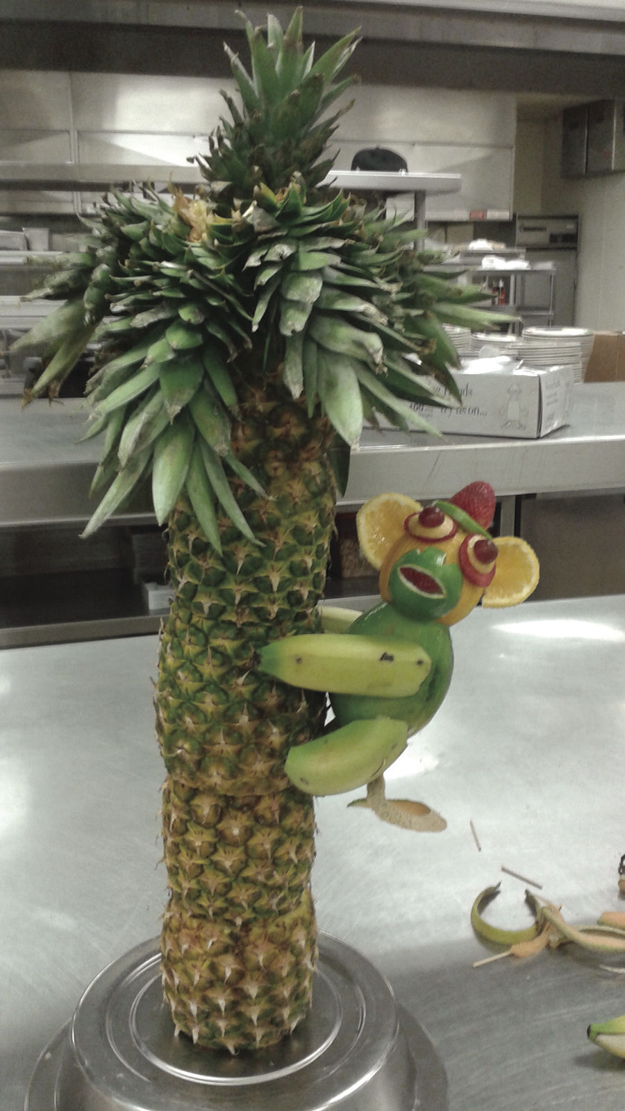 Art in fruit