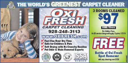 Oxi Fresh Carpet Cleaning Yuma Az