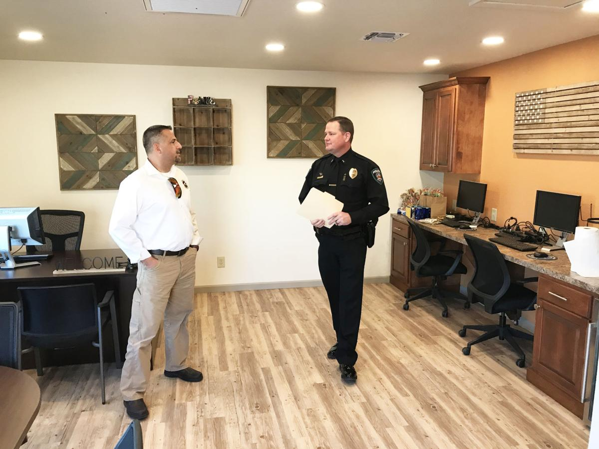 Police substation opened in Mesa Heights neighborhood