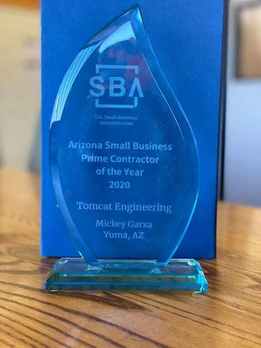 Business Glance: Tomcat Engineering named SBA's 2020 Top Prime Contractor
