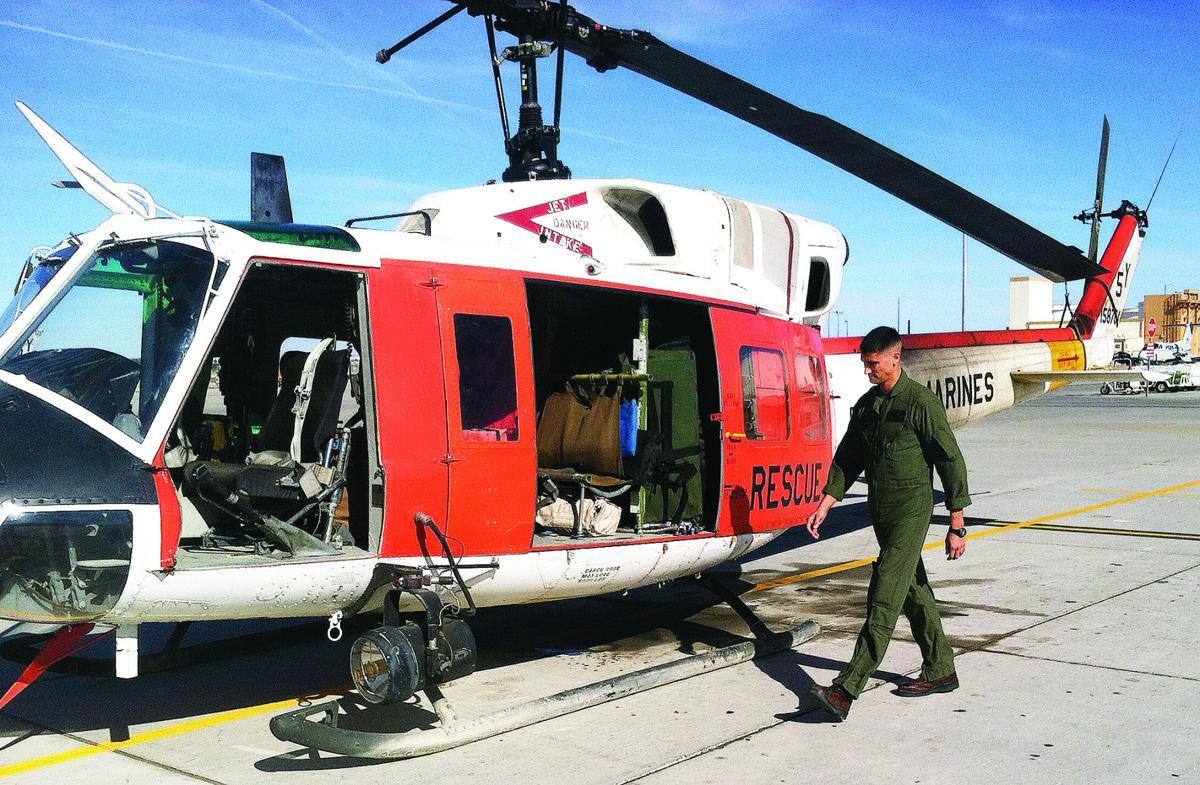 MCAS Search and Rescue crew